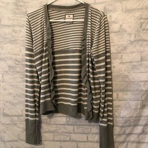 Poof Excellence Striped Cardigan